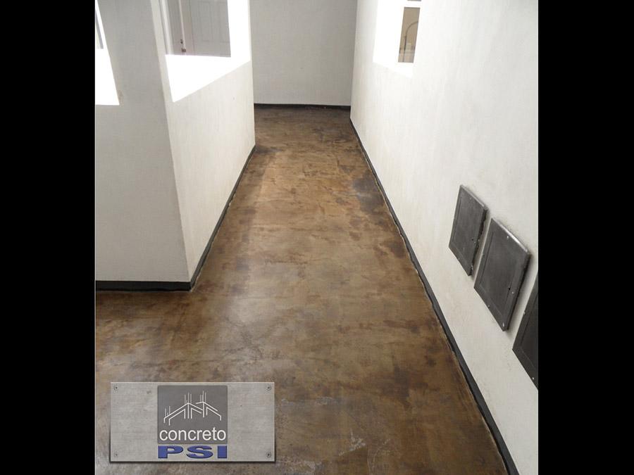 Pisos de concreto oxidado