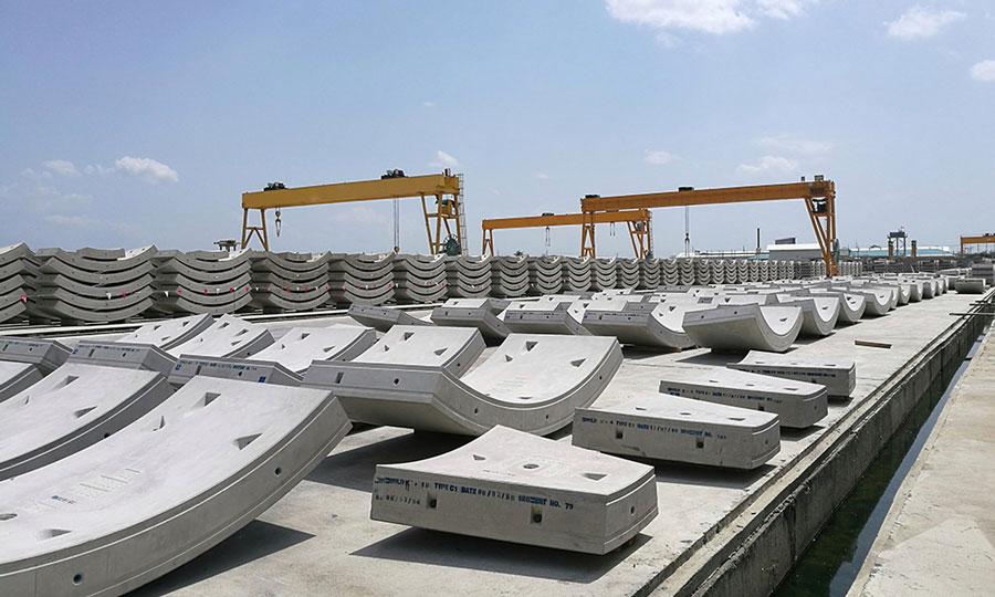 Elementos prefabricados de concreto PSI Concreto