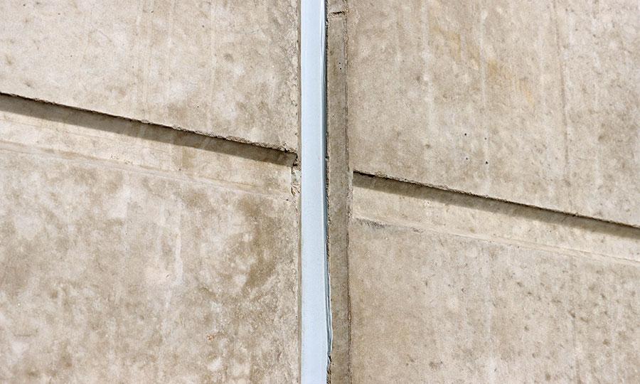 Junta en muro de concreto PSI Concreto