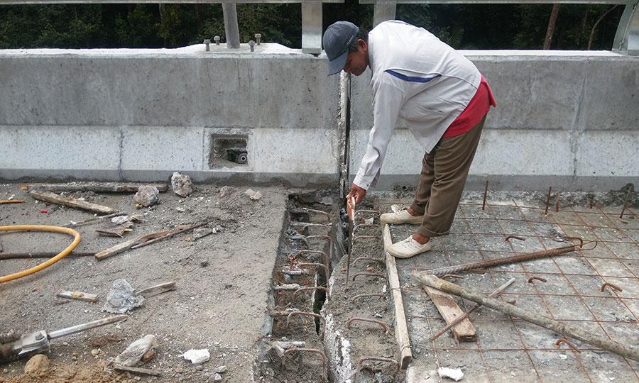 Juntas de expansión también instaladas en construcciones grandes PSI Concreto