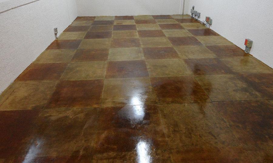 Por el proceso químico el concreto oxidado brinda una apariencia estética determinada PSI Concreto