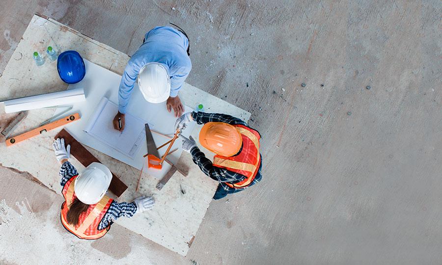 revisión en el proceso de construcción PSI Concreto