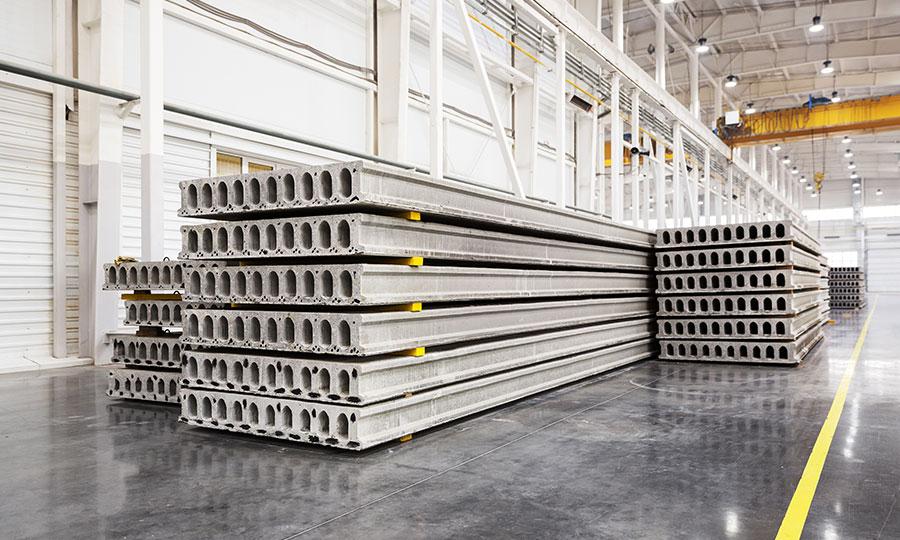 Losas de concreto armado prefabricadas PSI Concreto
