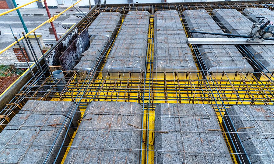 Combinaciones de concreto en construcción PSI Concreto